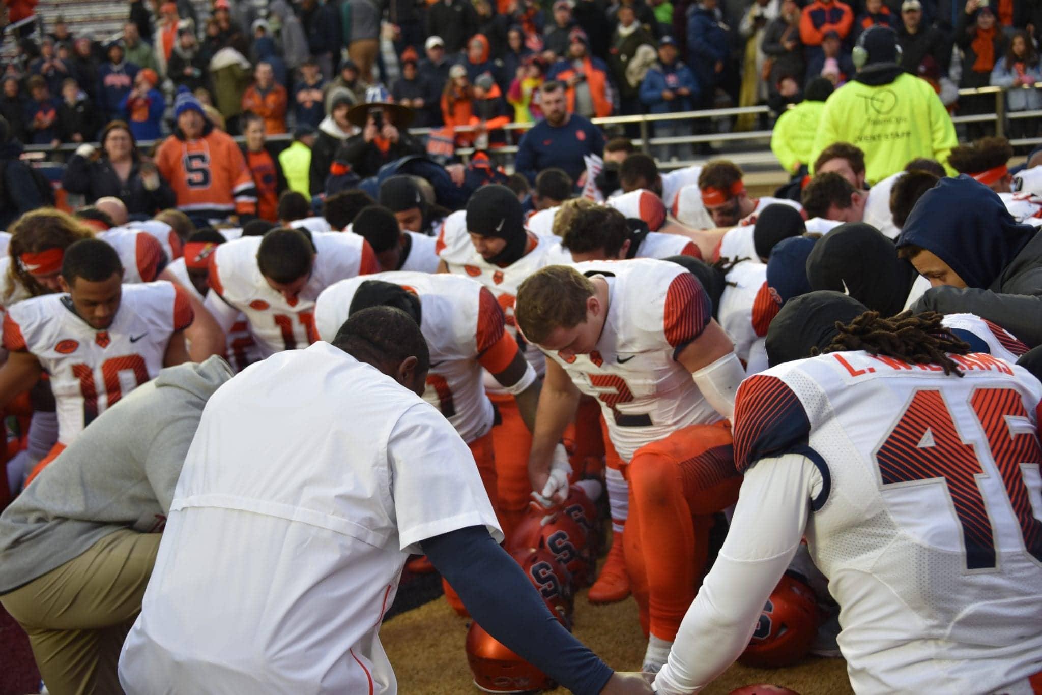 SU vs. Boston College football