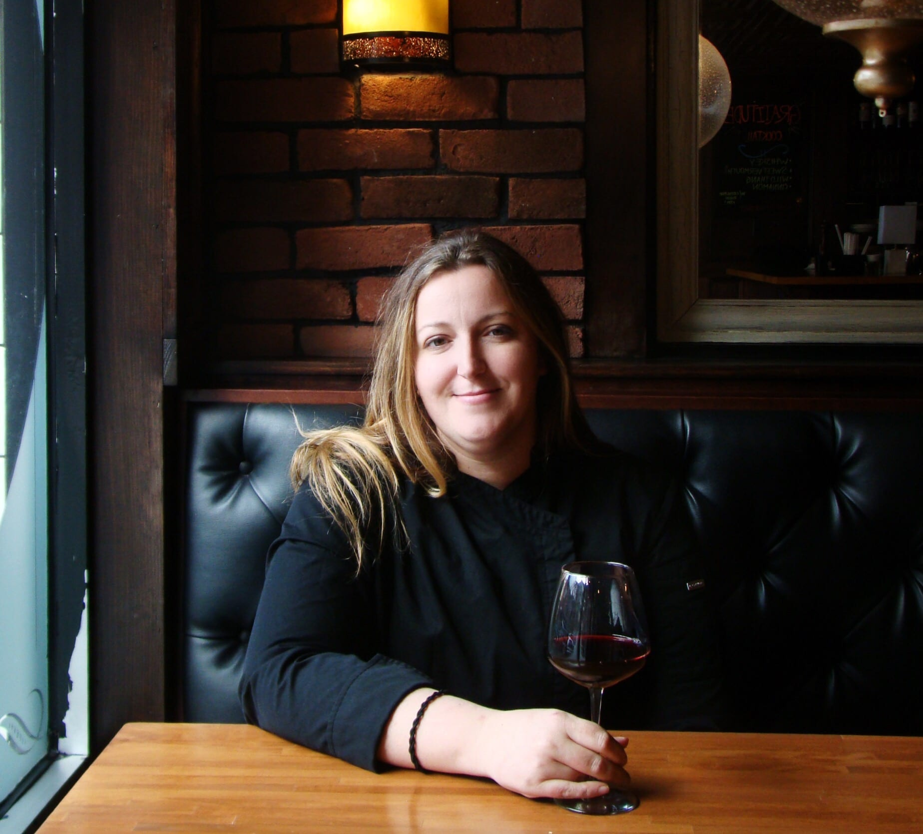Sarah Hassler, the first female chef for Peppino's Neapolitan in downtown Syracuse.