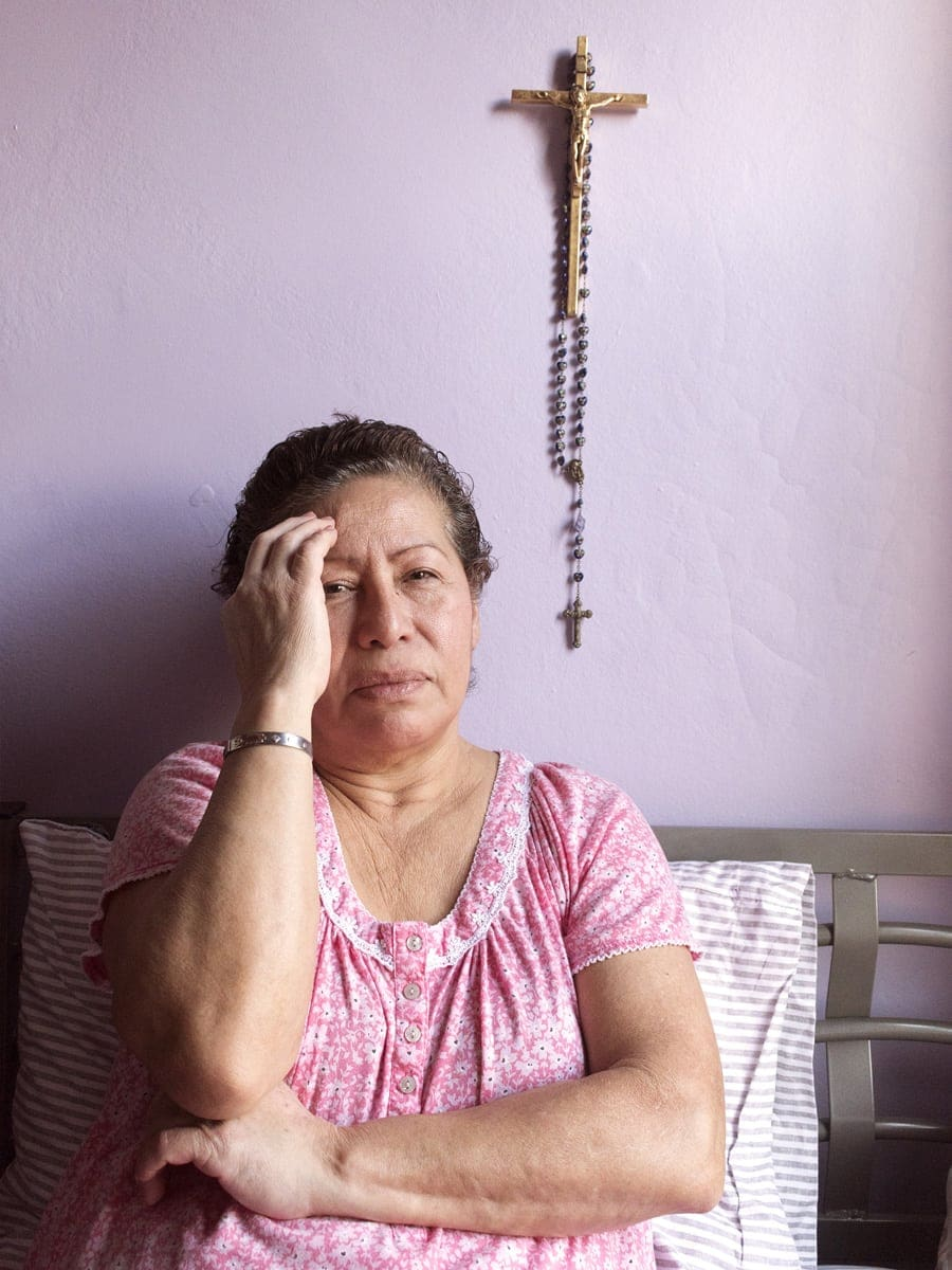 Portrait of Norma, Michelle Velasquez's grandmother