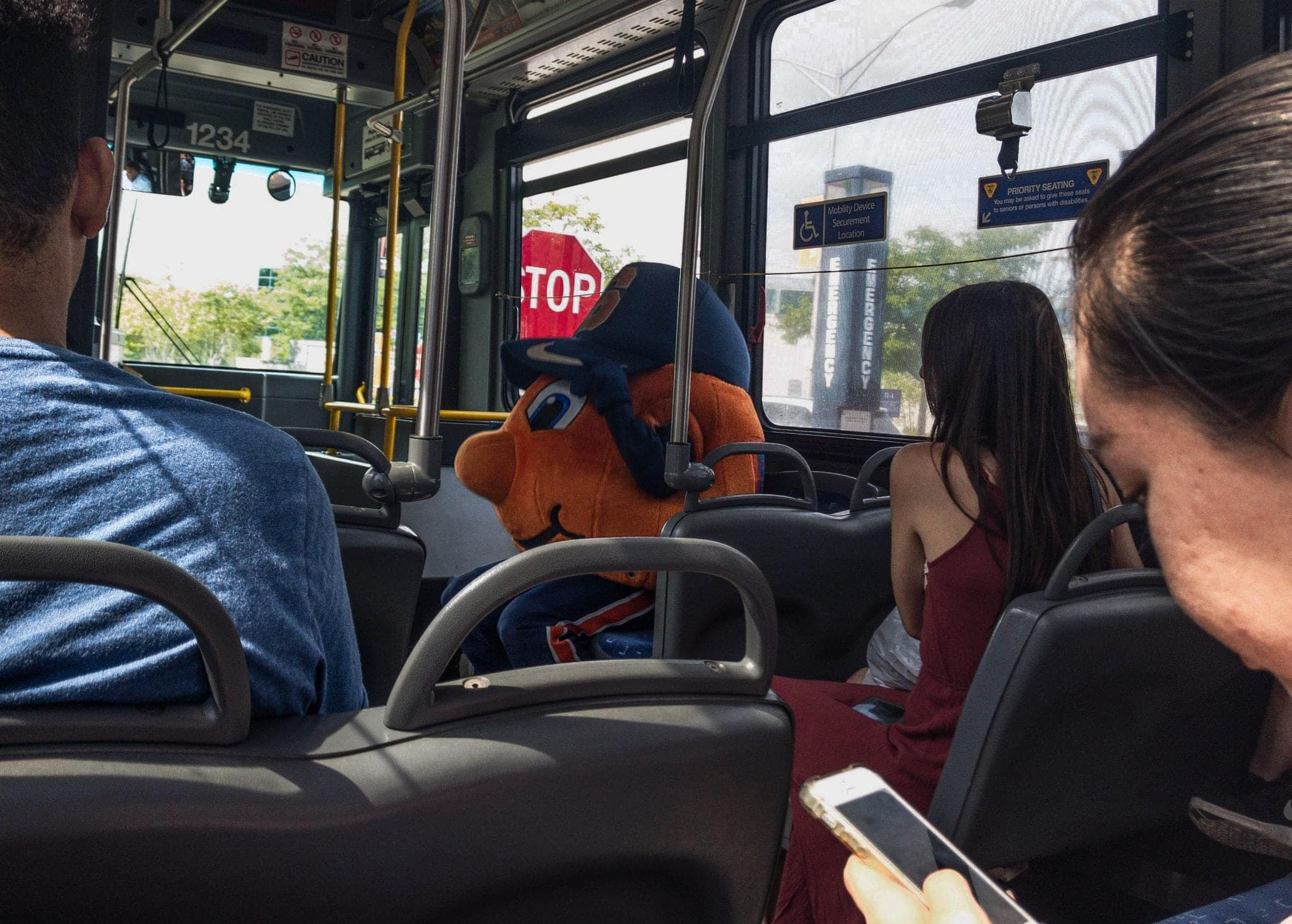 Otto on a Bus