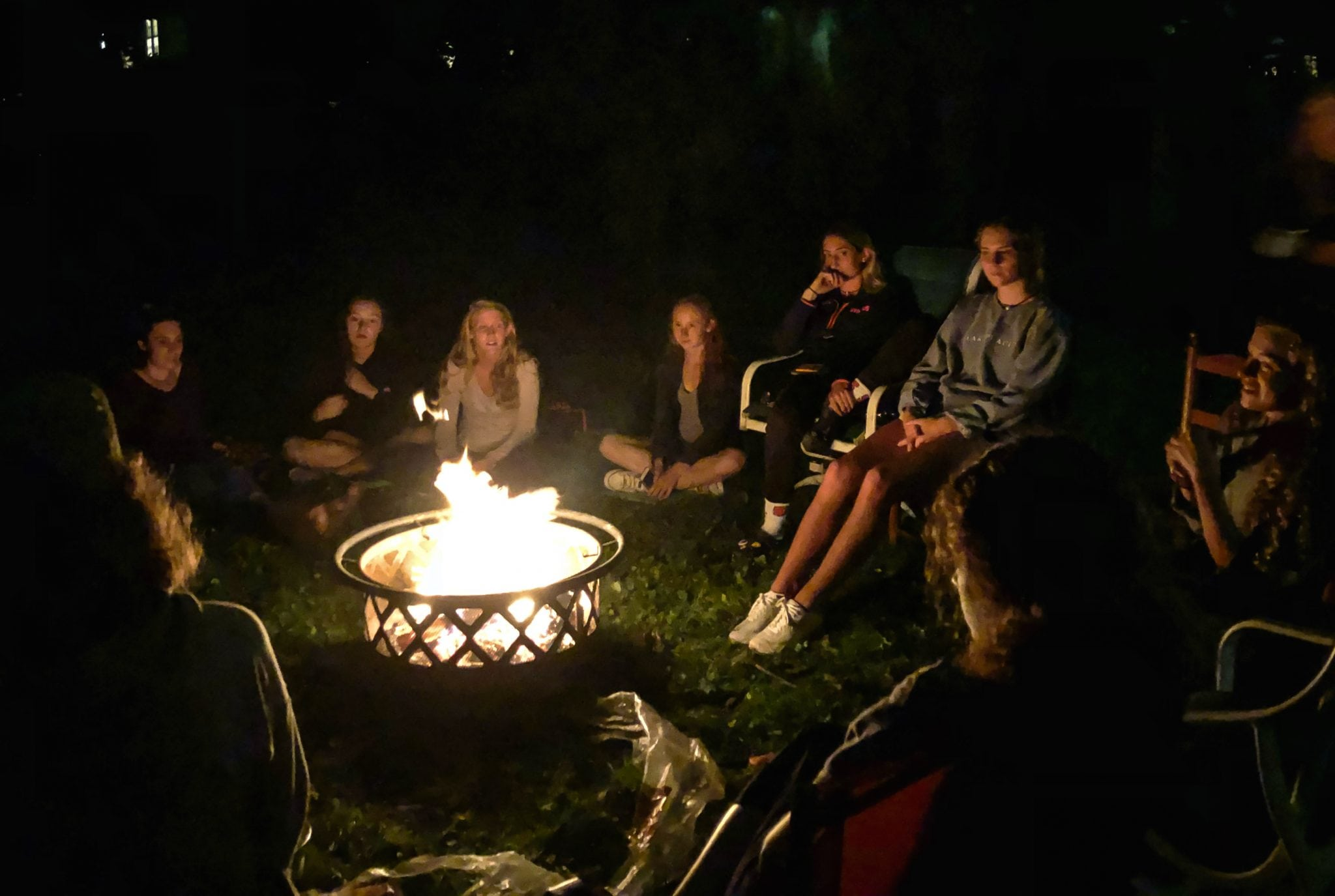 Campfire in University Hill