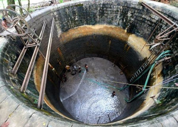 Forgotten for decades, 115-yr-old well is saving the day ...