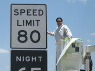 80 MPH speed limit