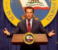 Governor Arnold Schwarzenegger, 1/8/10
