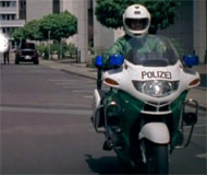 German  police motorcycle