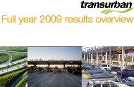 Transurban cover