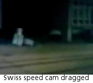 Speed camera dragged through Swiss streets