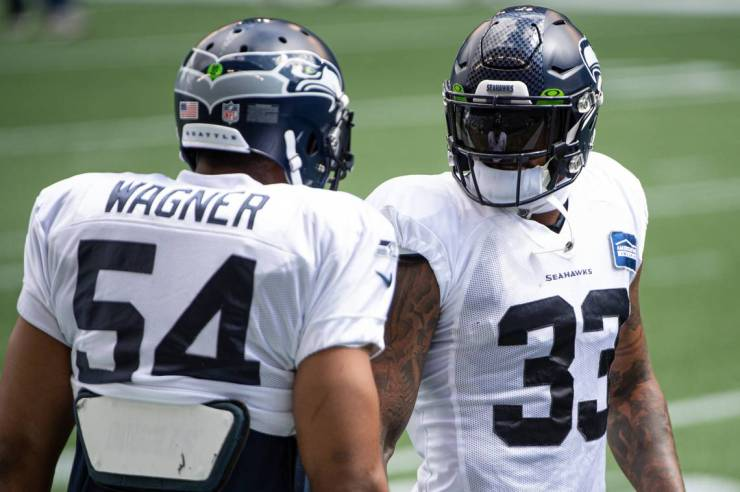 With hand wrapped Seahawks Jamal Adams continues to dominate | Tacoma News  Tribune