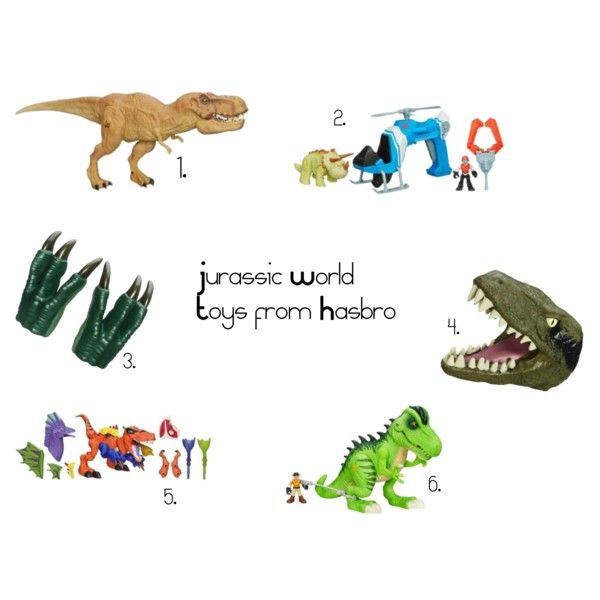 Jurassic World Toys from Hasbro