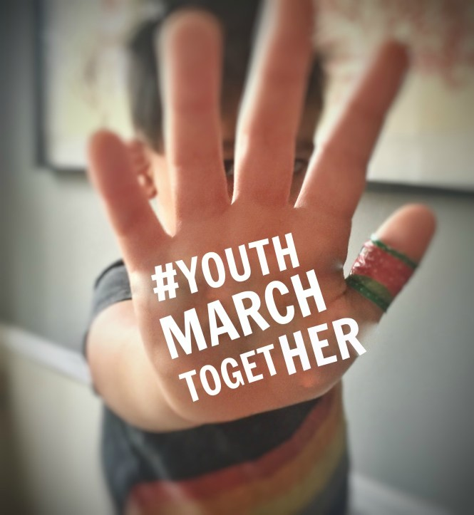 #YouthMarchTogether