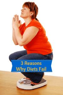 3 Reasons Why Diets Fail