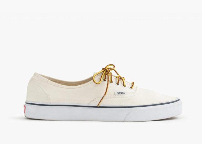 Vans® for J Crew - Canvas Authentic Sneaker, photo via JCrew.com