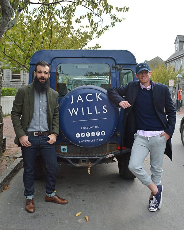 Hanging out with @Bostonmo and Jack Wills. Photo: © TNG