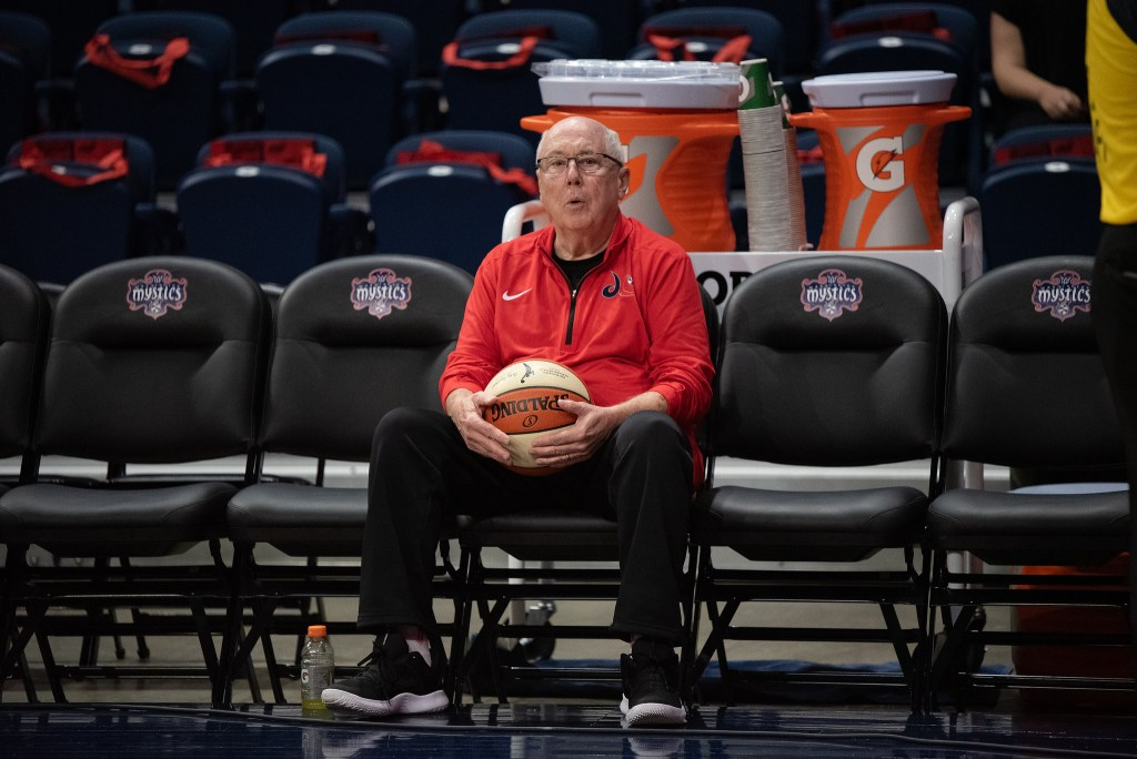 Catching up with Washington Mystics coach Mike Thibault on the roster, the season, and current events