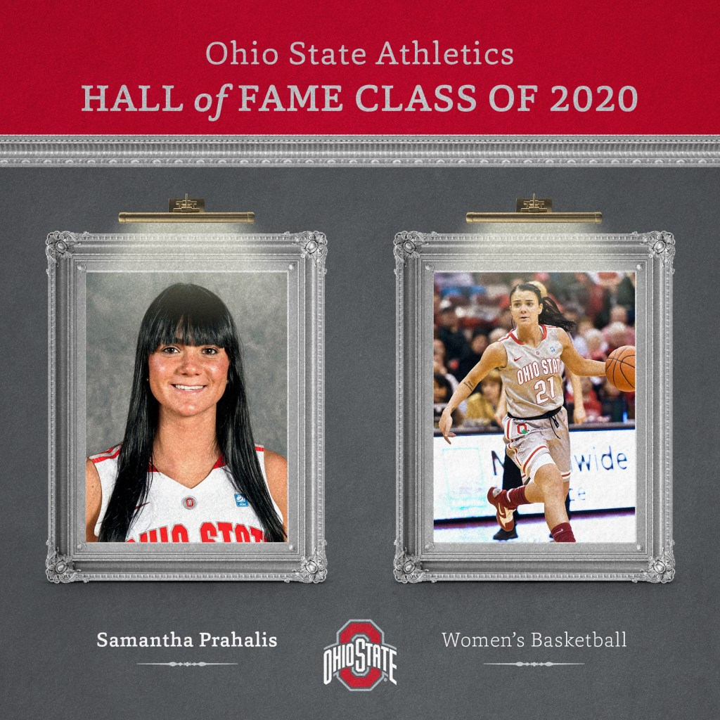 Samantha Prahalis named to The Ohio State Athletics Hall of Fame