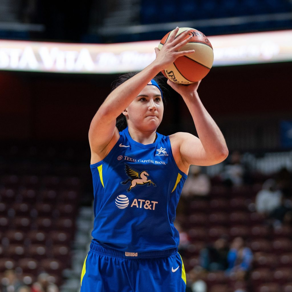 Dallas Wings' Megan Gustafson keeps proving her value in the WNBA