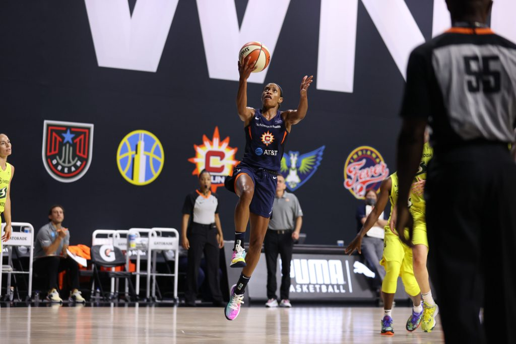 Connecticut Sun look ahead to the second half of the season
