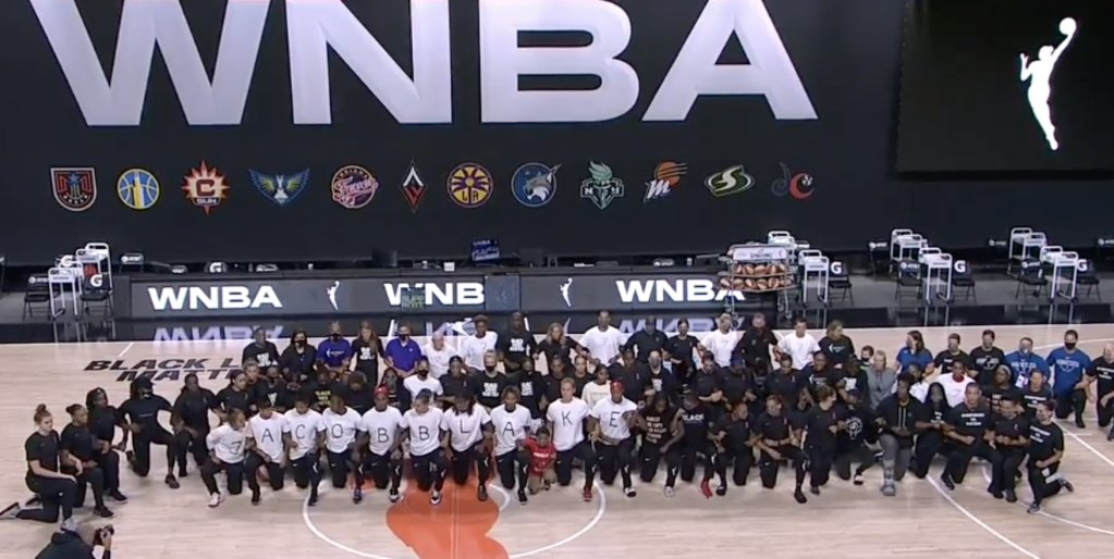 News Alert: WNBA players sit out Wednesday's games to protest racial injustice