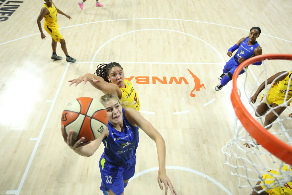 Wings duo Bella Alarie, Ty Harris Talk life in the WNBA and Under Armour