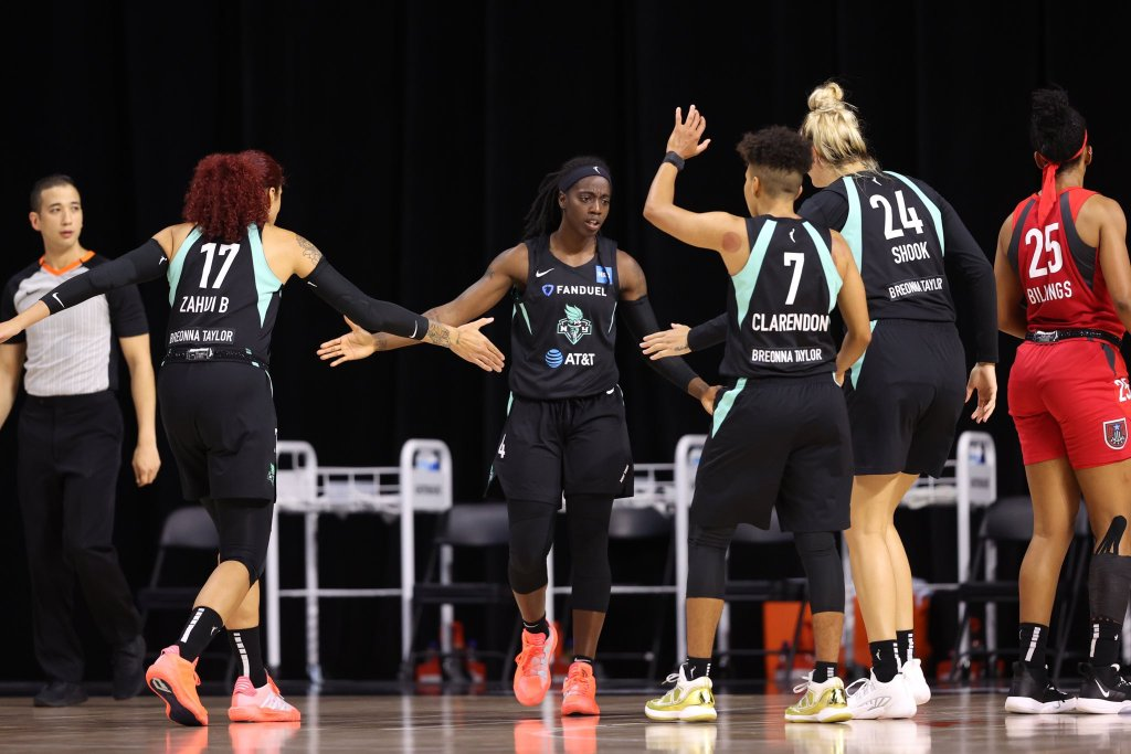 Without Sabrina the Liberty show 'true toughness' in loss to the Dream