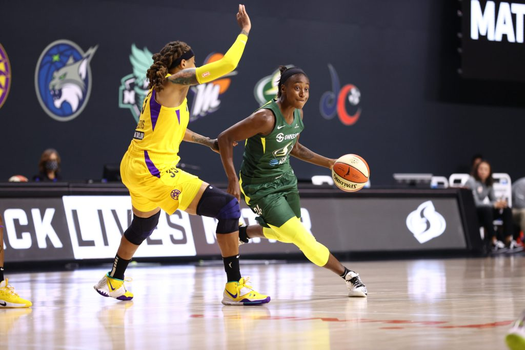 Jewell Loyd reminds everyone how important she is to Seattle