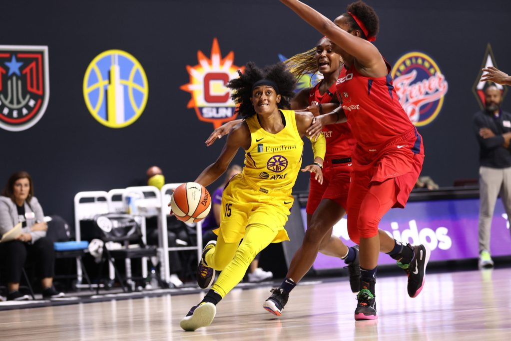 Seeding drive for Sparks takes a hit in loss to Mystics