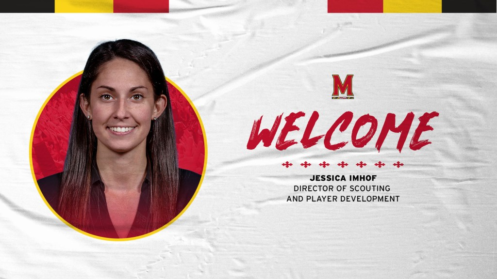 Maryland hires Jessica Imhof as Director of Scouting and Player Development