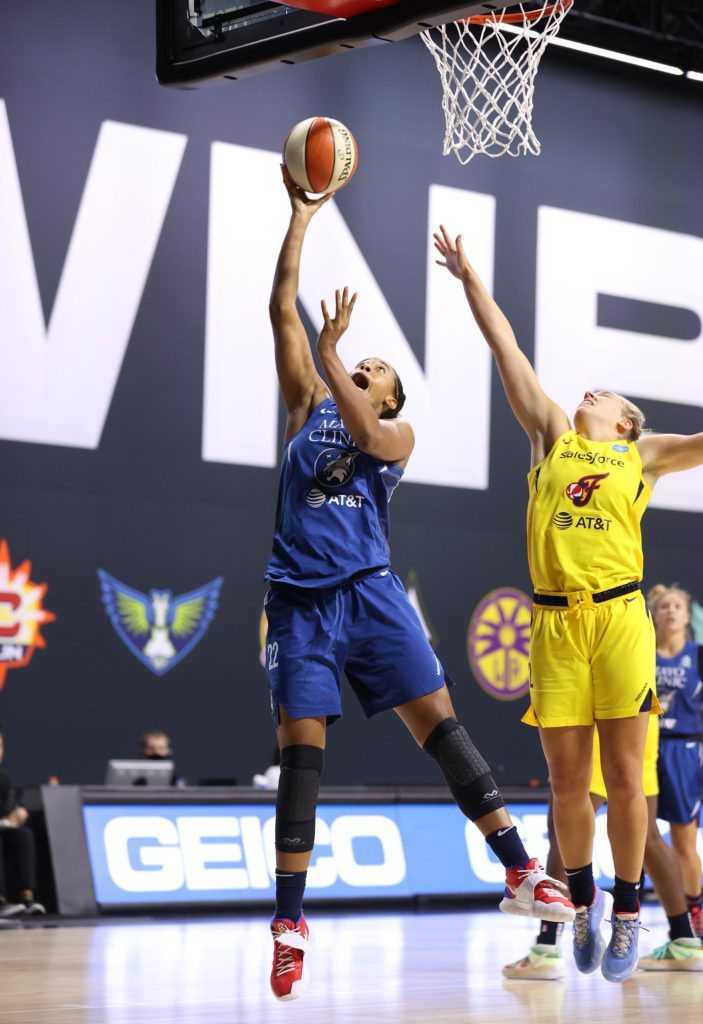"""""""I'm geeked"""": Why Erica McCall is excited to join the Washington Mystics"""