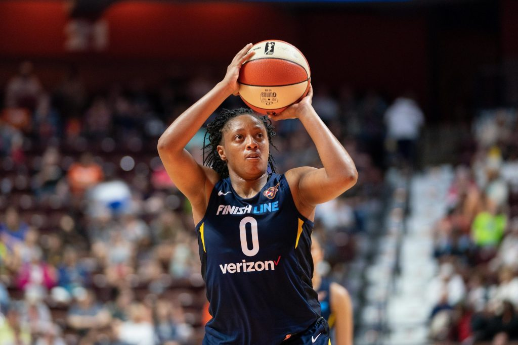 Indiana Fever sign Kelsey Mitchell to multi-year contract extension