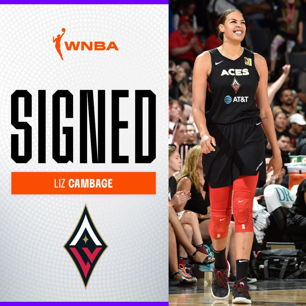 Liz Cambage re-signs with Aces, sets sights on a WNBA championship