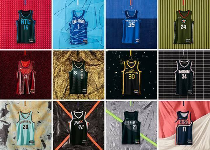 Rebel Edition jerseys released by Nike bring WNBA cities to life