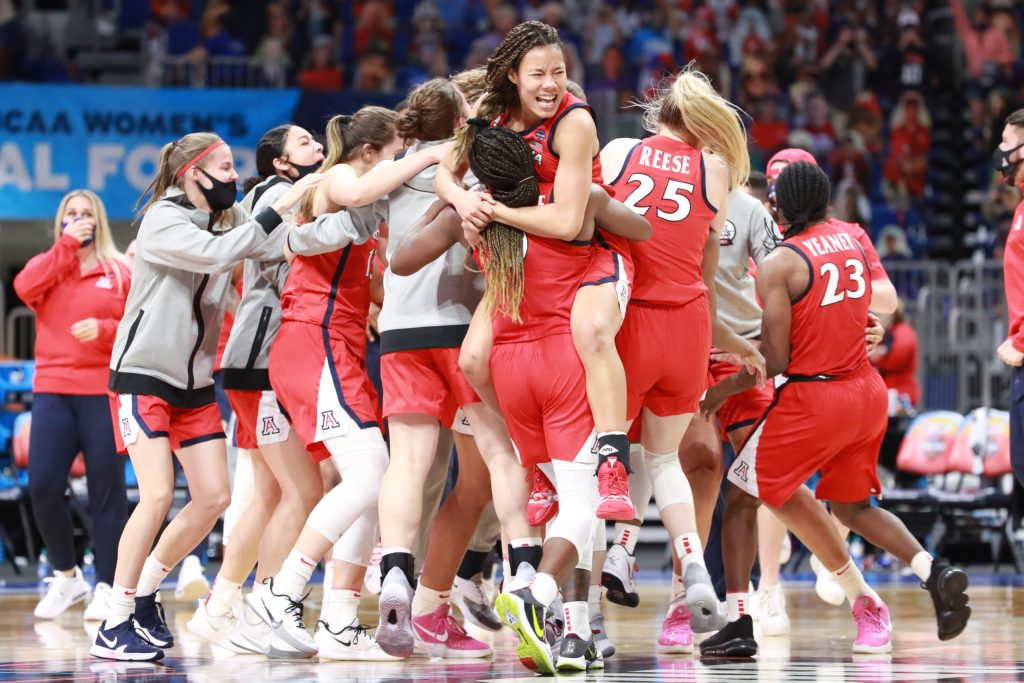 'We knew we'd bear down and fight': Arizona's defense smothers UConn