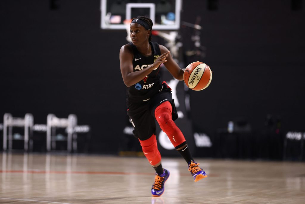 Aces notebook: How does Las Vegas weather Angel McCoughtry's injury?