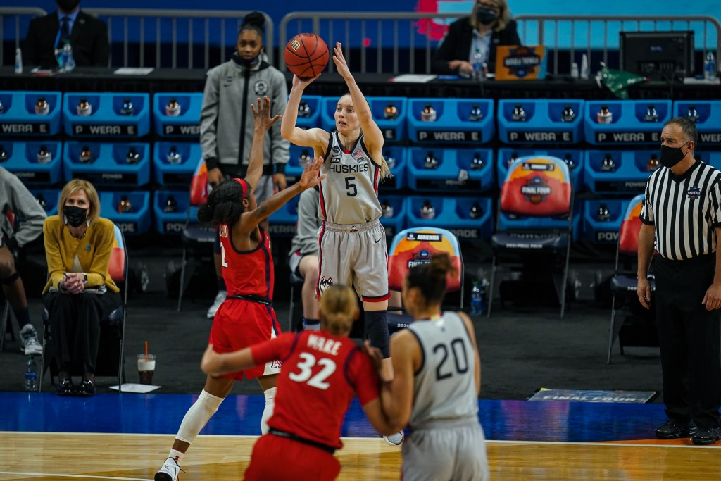 UConn's Paige Bueckers has surgery on ankle, expected to be ready for the 2021-22 season