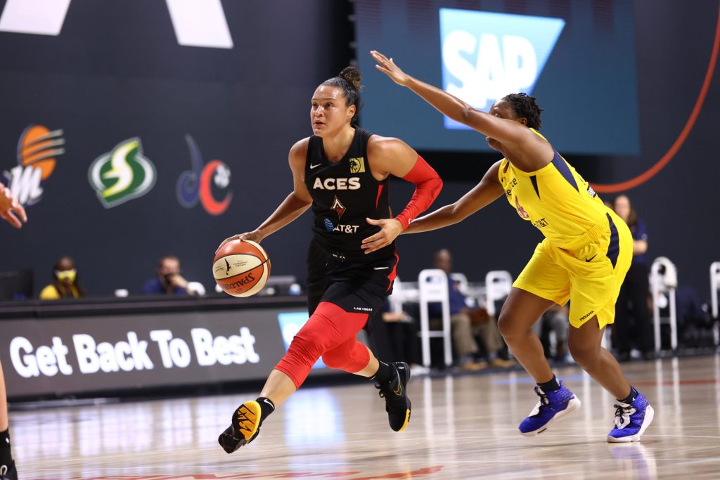 'We just didn't show up to play': Fever open road trip with blowout loss to Aces