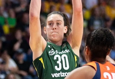 WNBA GMs big on Aces and  Breanna Stewart