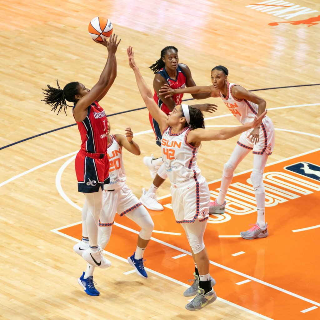 Another game, another career high for Ariel Atkins