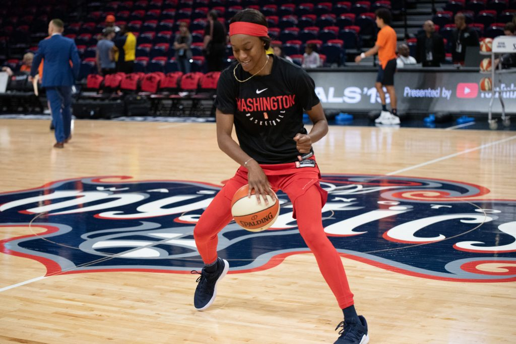 How Shatori Walker-Kimbrough helped the Mystics get to the Olympic break on top