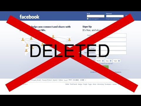 How to deactivate Facebook account quickly