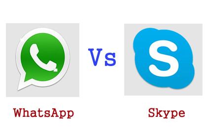 skype vs whatsapp
