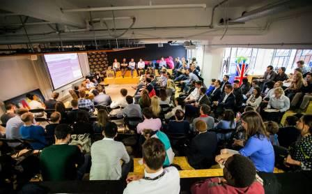 Wayra corporate accelerator event