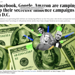 Big Tech digs into deep, secretive political pockets