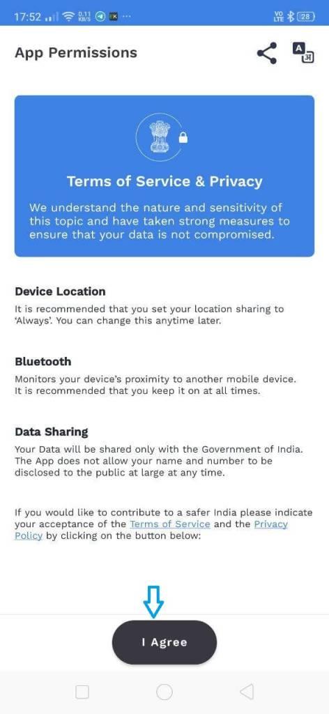 aarogya setu app download link 1