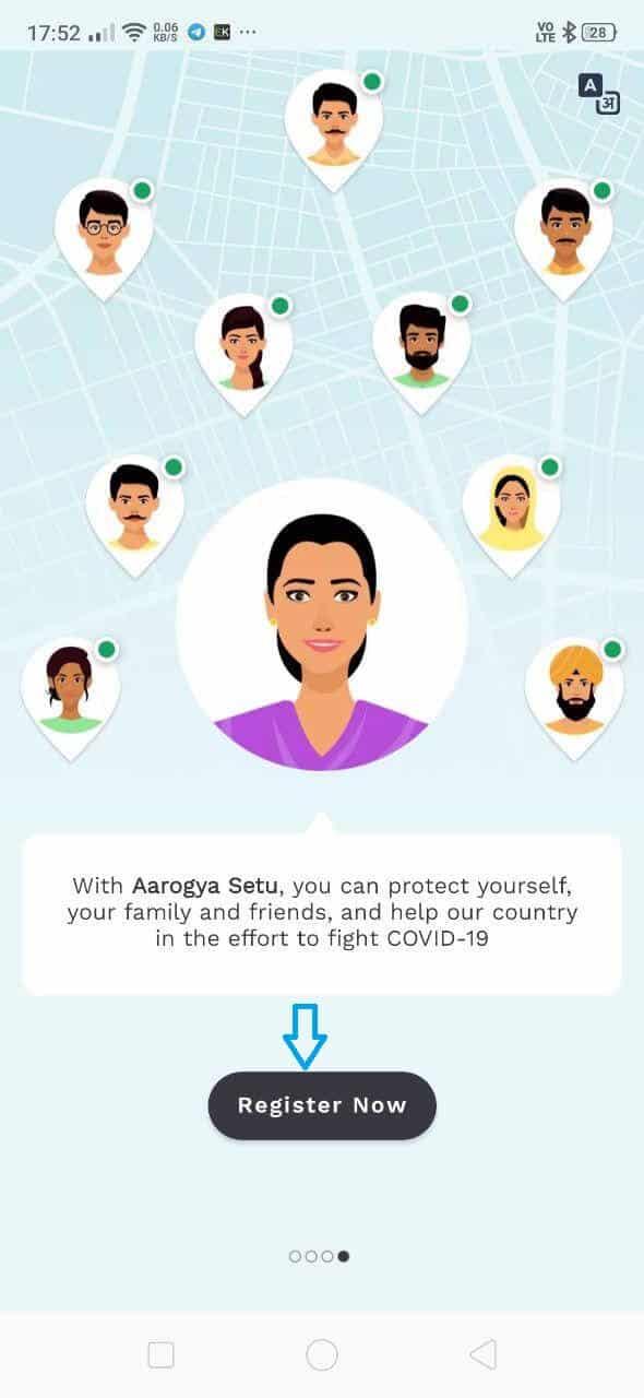 aarogya setu app install