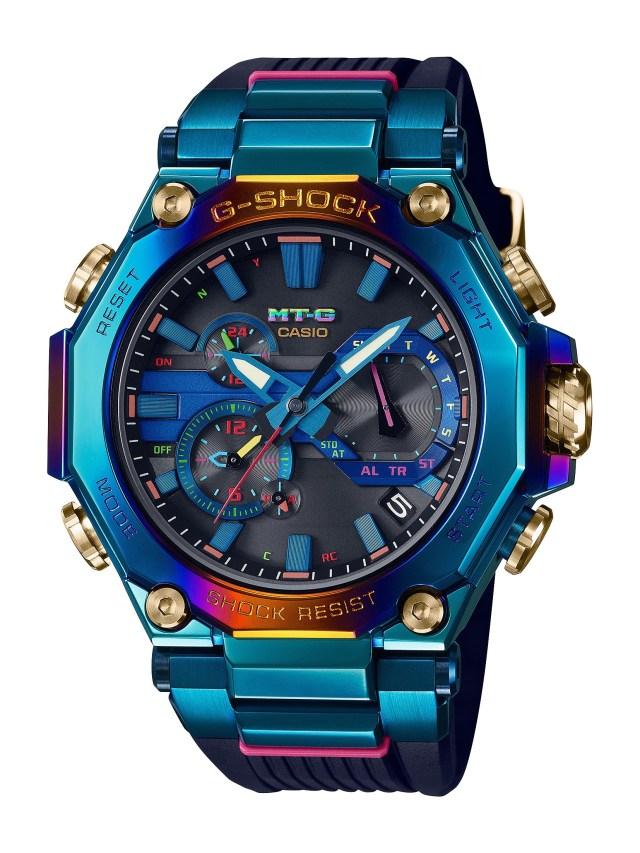 Casio Unveils New MT-G Blue Phoenix-Inspired Shock-Resistant Watches