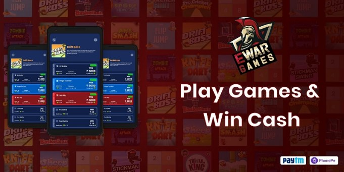 EWar Mobile Gaming App Registers 10x Growth, Hits 1 Million Users in 2021