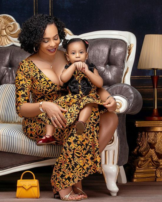 Tboss celebrates daughter, thanks God for answering her prayers {PHOTOS}