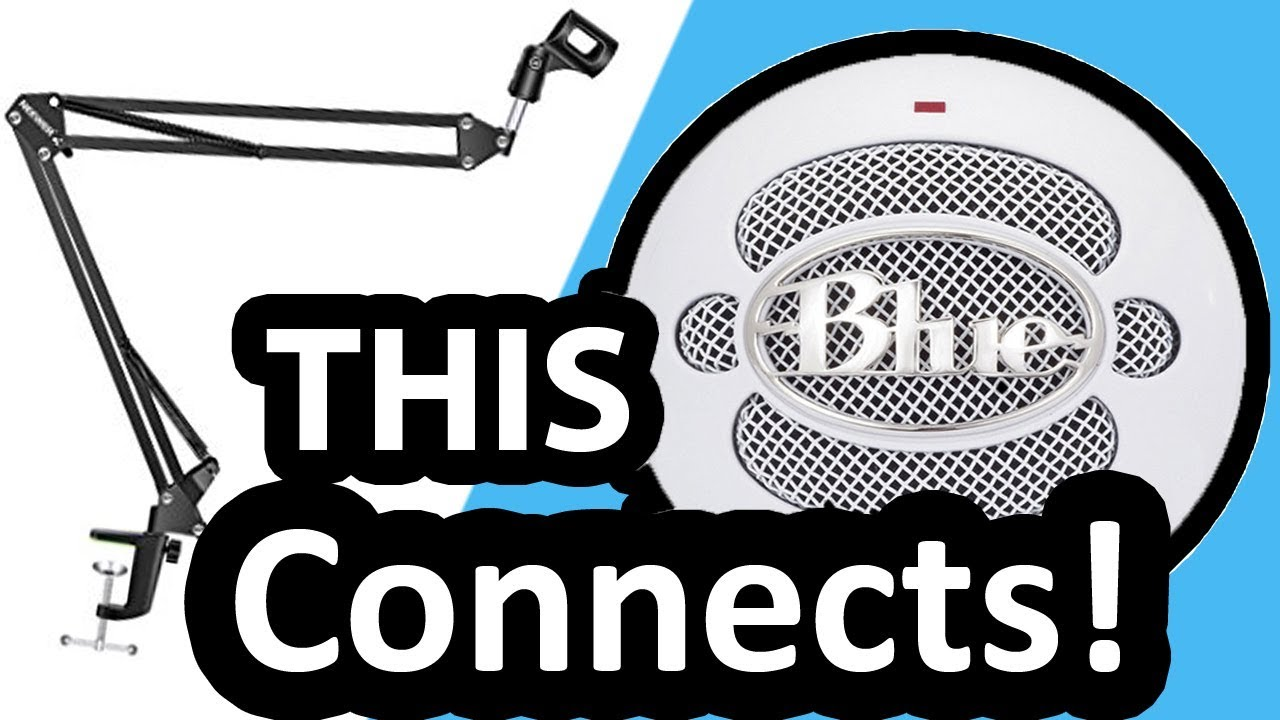 Boom Arm For Blue Snowball How To Connect The Night