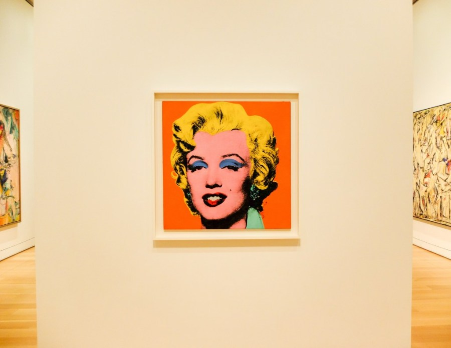 andy warhol exhibit at the art institute of chicago