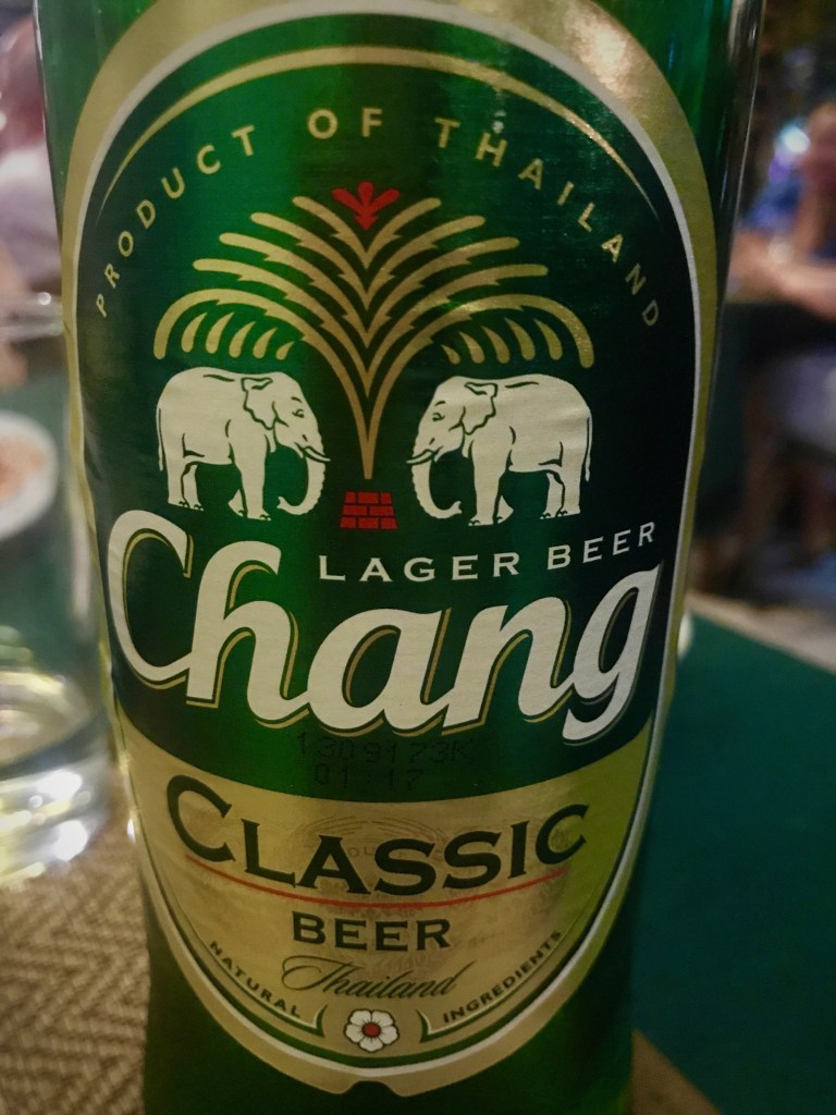 chang beer bottle